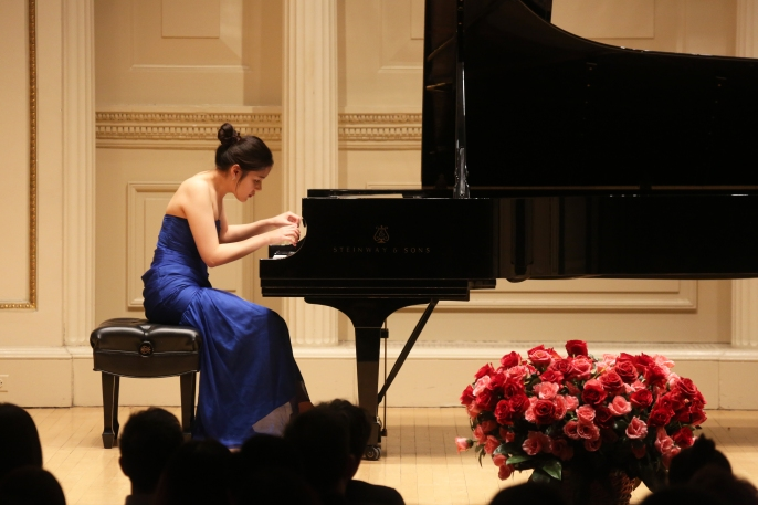 Photo: International Piano and Strings Competition 2016; American Protégé; Winners Recital; recital photographed: Saturday, April 23, 2016; 1:00 PM at Weill Recital Hall at Carnegie Hall; Photograph: © 2016 Richard Termine. PHOTO CREDIT - Richard Termine